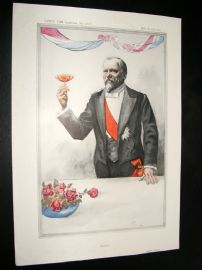 Vanity Fair Print 1913 M. R. Poincare